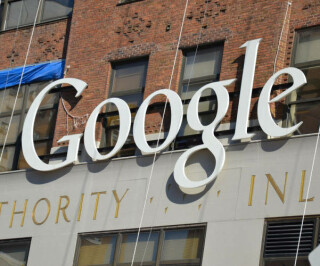Hausfassade des Google Büros in New York