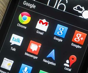 Apps von Google auf Smartphone