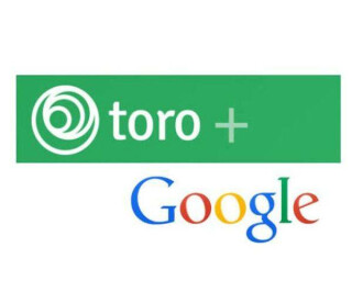 Toro und Google Logos