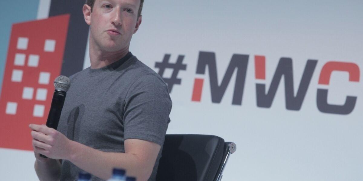Mark Zuckerberg Mobile World Congress