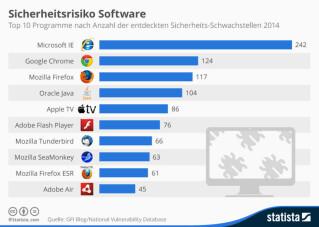 Sicherheits-Schwachstellen bei Software