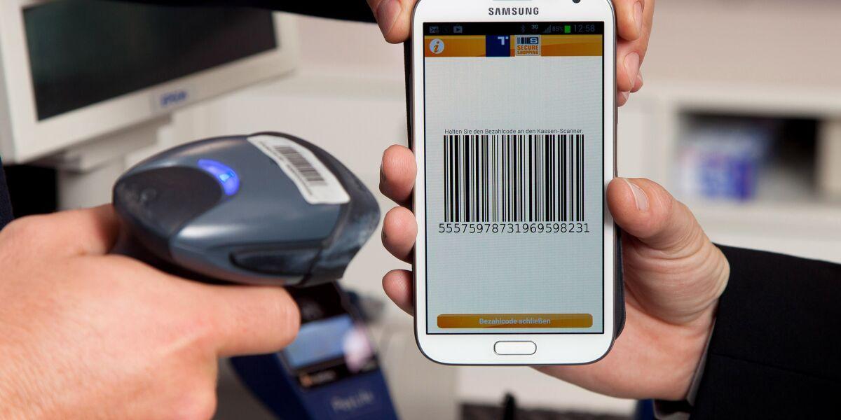Scanner mit Smartphone