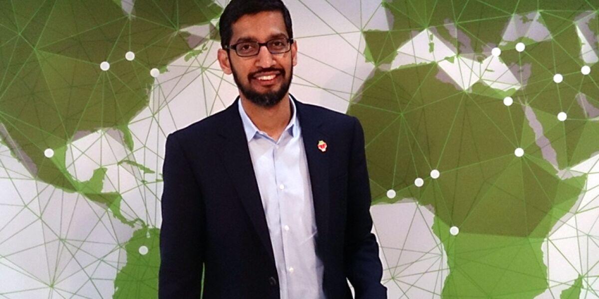 Sundar Pichai, Android-Chef von Google