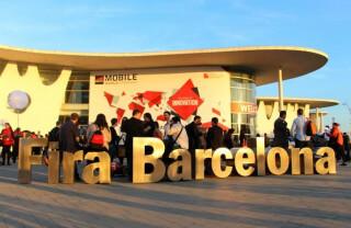 Gut besucht: das MWC-Messegelände in Barcelona