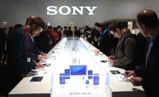 Messestand von Sony