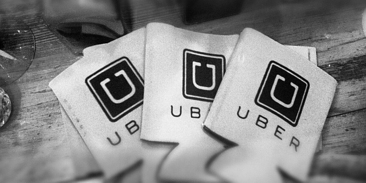 Uber-Werbemittel