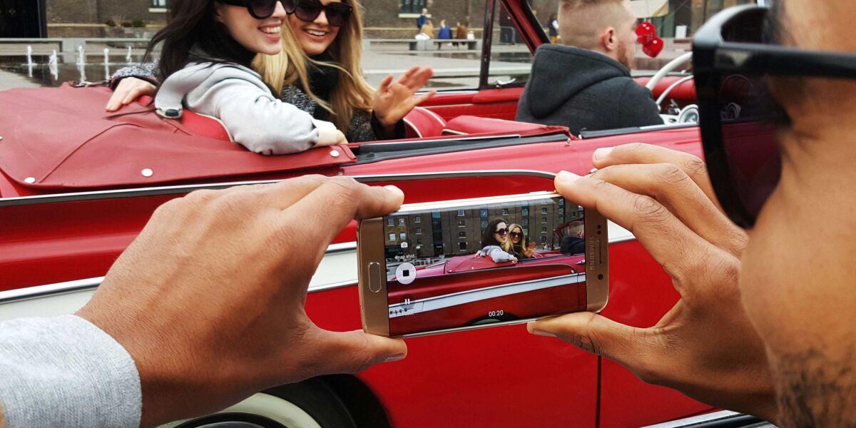 Begehrt: das Galaxy S6