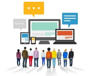 Responsive Design Screens Leute