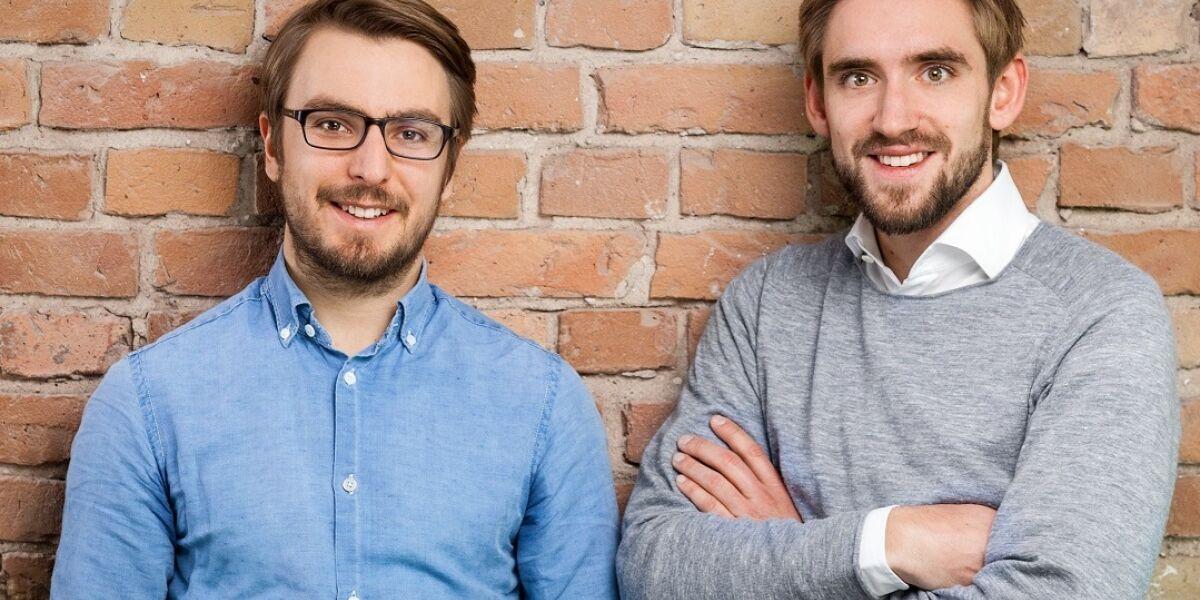 Spacebase-Gründer Hoffmann-Keining und Jost