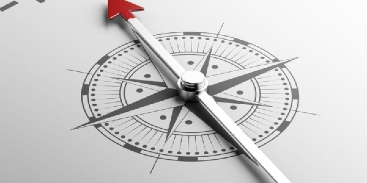 Kompass Trust-Schriftzug
