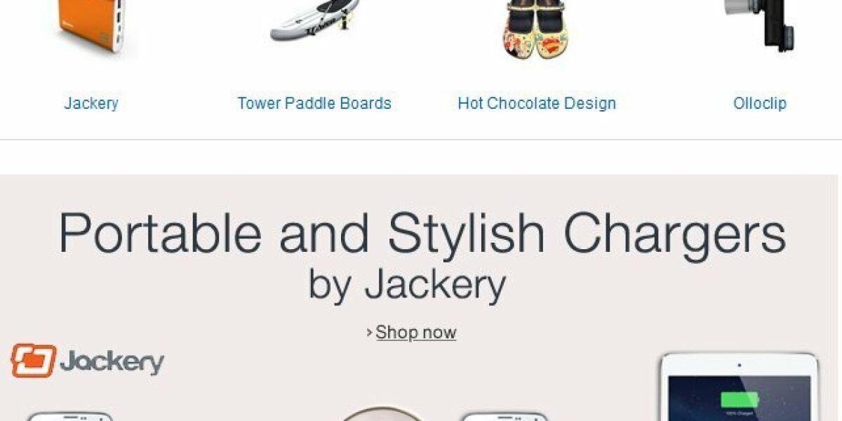 Amazon Webseite Exclusives