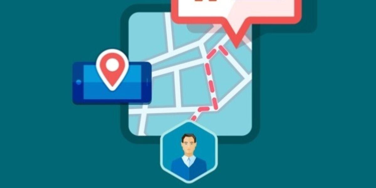 Location Based Advertising Grafik
