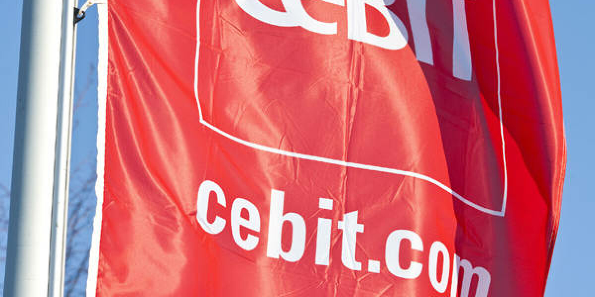 Cebit Flagge