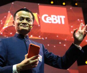 Jack Ma auf der CeBIT