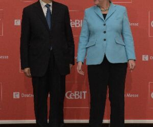 Ma Kai und Angela Merkel