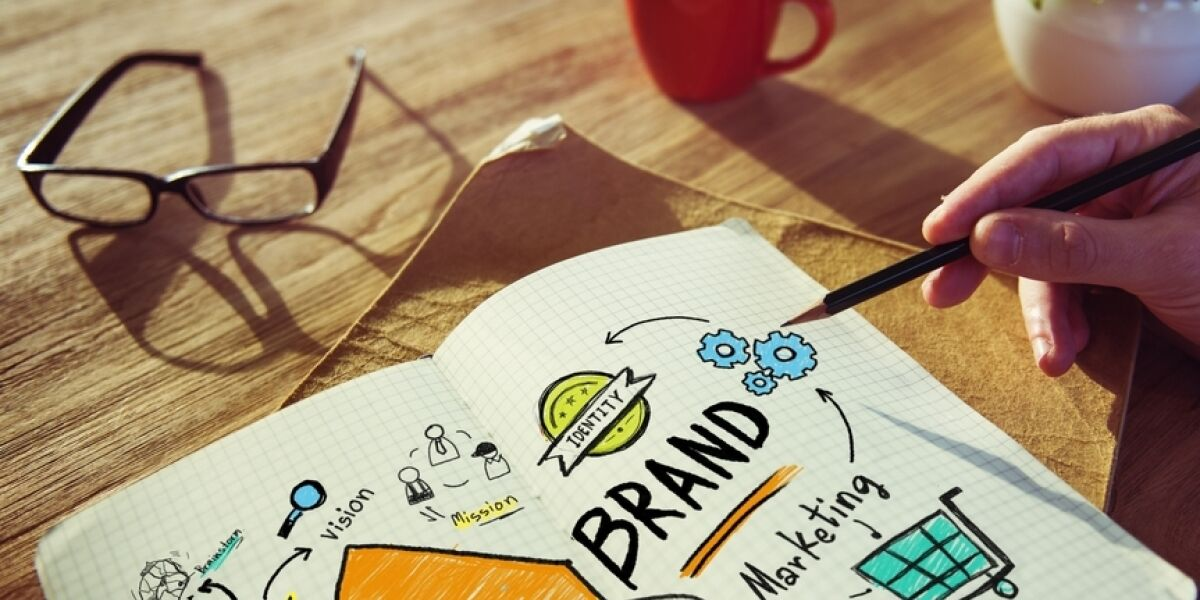 Notizheft Brand-Strategie