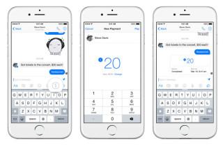 Facebook Messenger Geldüberweisung
