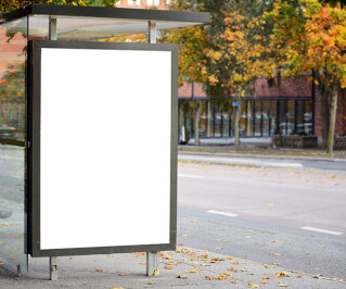 Platz für Werbung