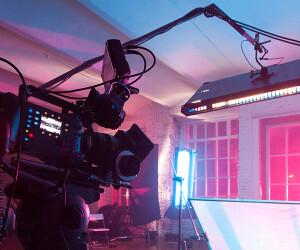 Kamera und Spotlight