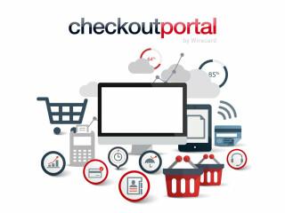 Mobile Geräte mit Shopping-Symbolen