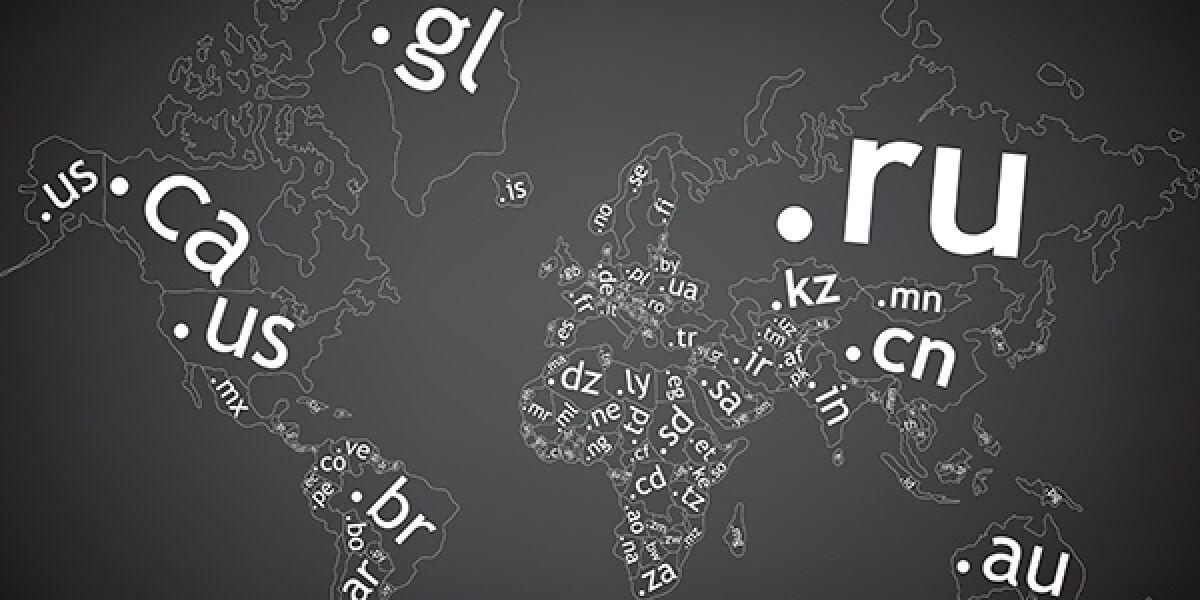 Top-Level-Domains weltweit