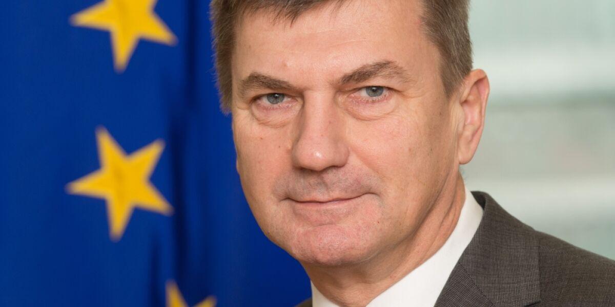Andrus Ansip Vizepräsident EU-Kommission