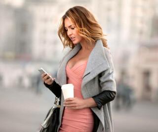 Platz 3 - Smartphone-Nutzung im Gehen