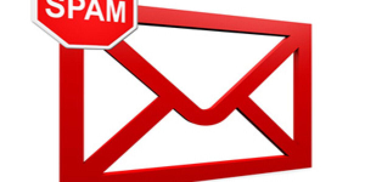 Symbolbild einer Spam Mail