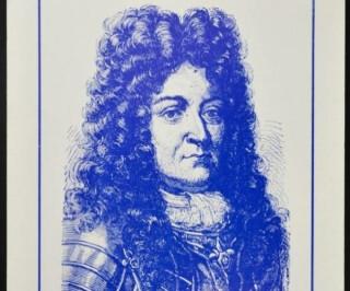 Briefmarke Ludwig XIV