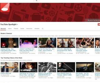 Youtubeseite von Youtube selbst
