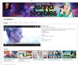 Youtubeseite von JennaMarbles