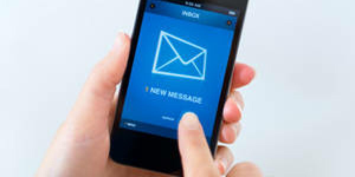 Nachricht auf dem Handy
