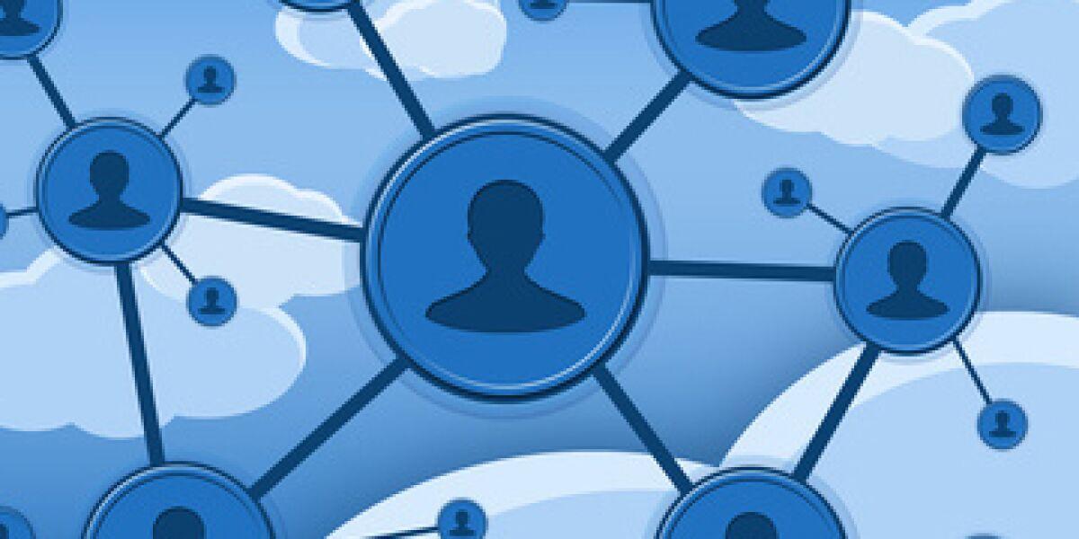 Netzwerk in Facebook-Optik