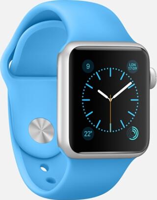 Apple-Watch blue