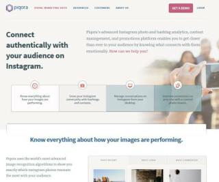 Webseite von piqora