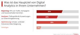 Statistik zum Thema Digital Analytics