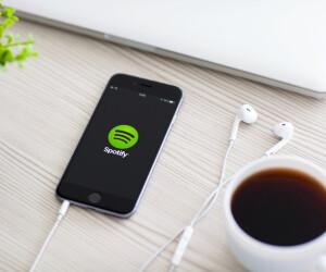 Spotify auf Smartphone