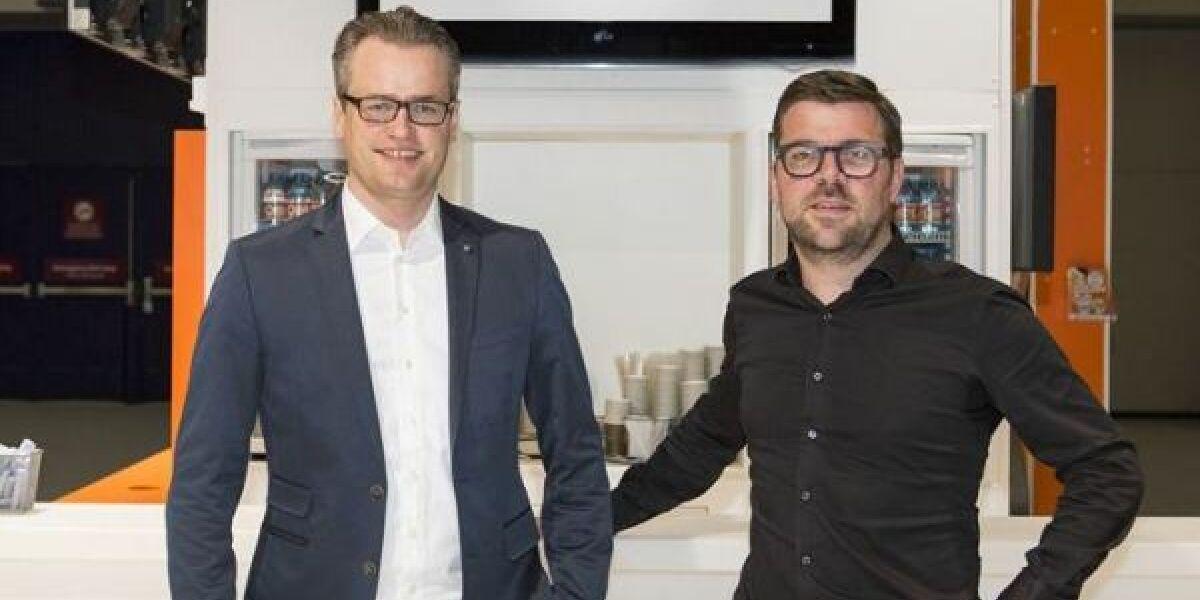 Die Gründer der Website Ichwillmeinautoloswerden.de Vincent Stevens und Niels Oule Luttikhuis