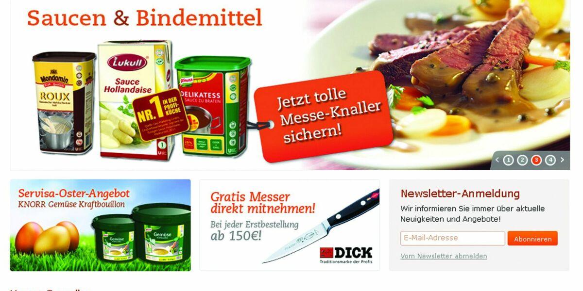 B2B Shop von Knorr