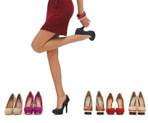 Schuhe Highheels Frauenbeine