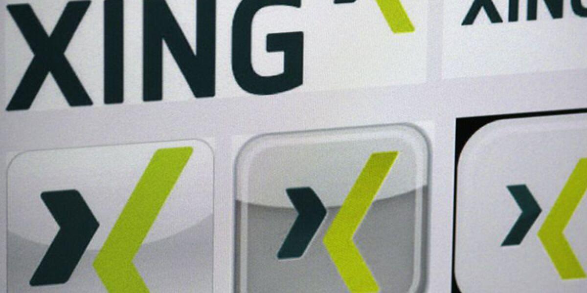 Logo der Social Media Plattform Xing
