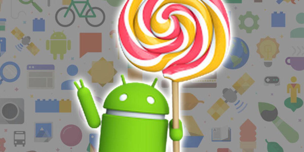 Android Lollipop Figur