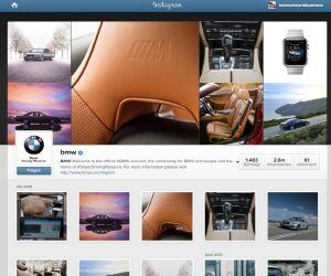 Instagramprofil von BMW