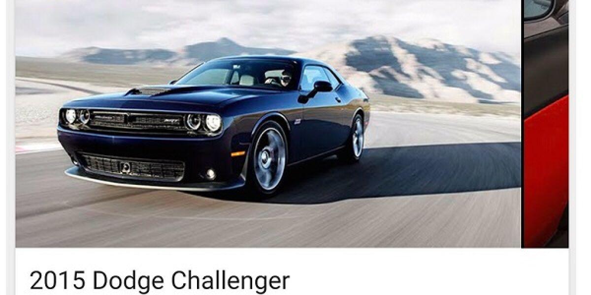 Screenshot von einem schwarzen Mustang