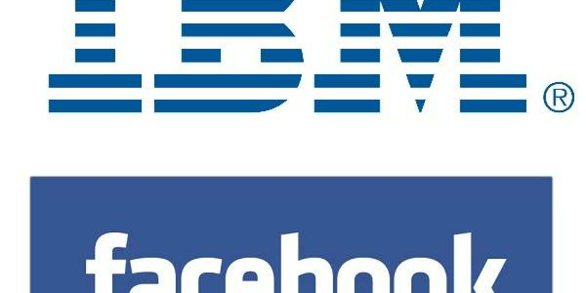 Logo IBM und facebook