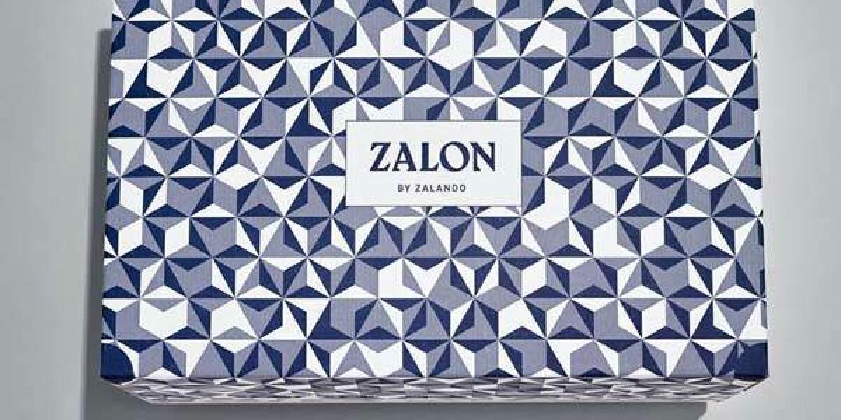 Zalon-Schachtel auf grauem Grund