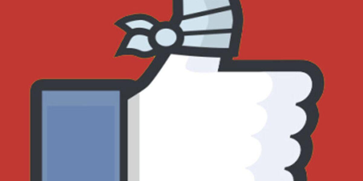 Facebook Daumen rot