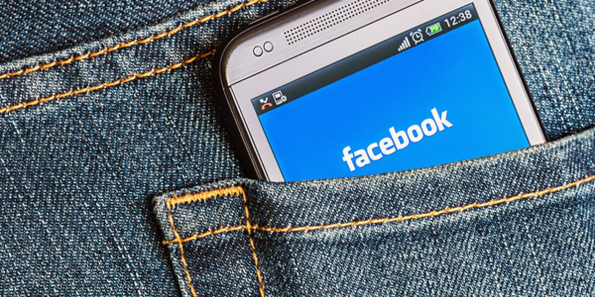 Facebook in der Hosentasche