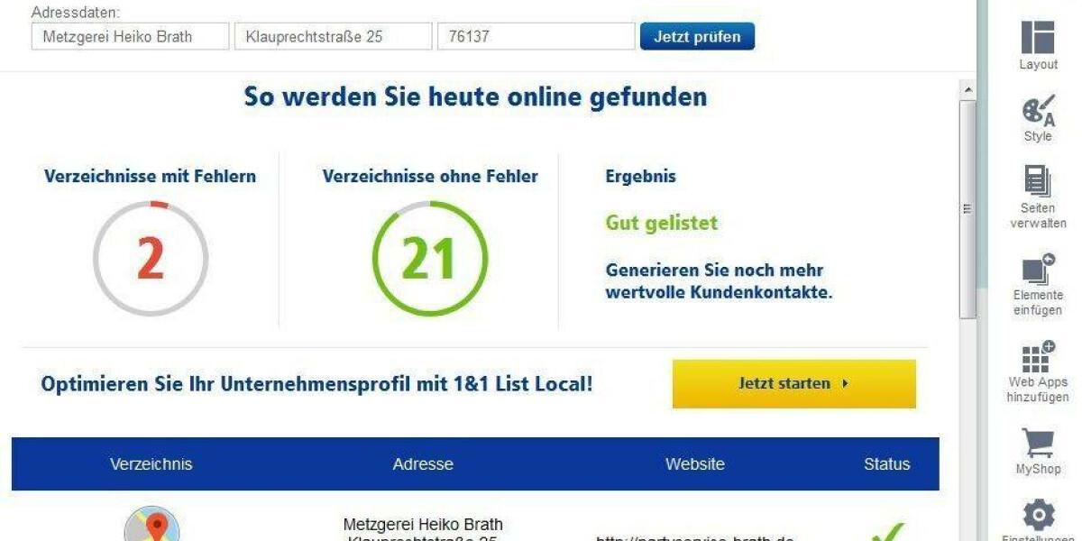 Das 1&1 Online-Erfolgscenter