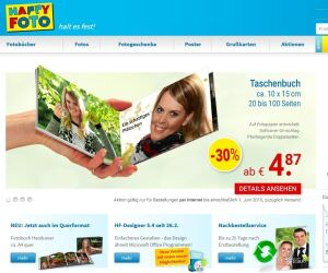 Website von Happy Foto